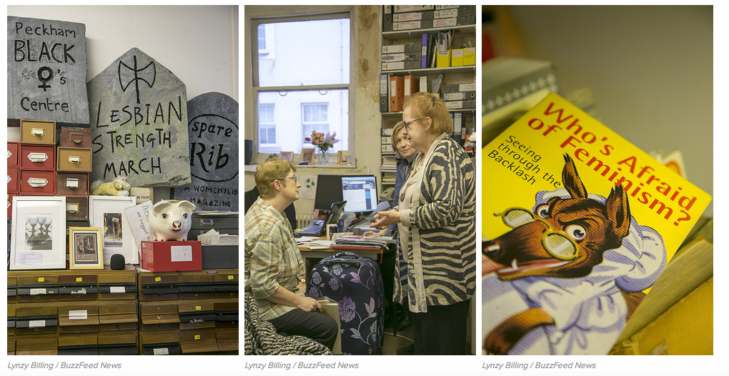 Feminist Library Photos. Lynzy Billing / BuzzFeed News