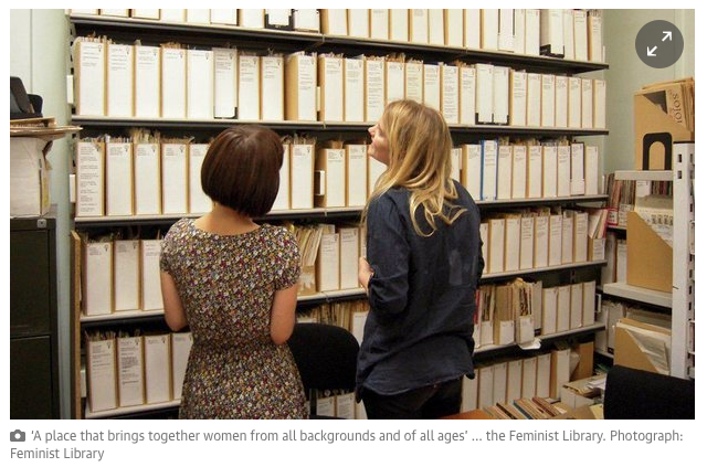 Feminist Library Photo. Feminist Library / Guardian