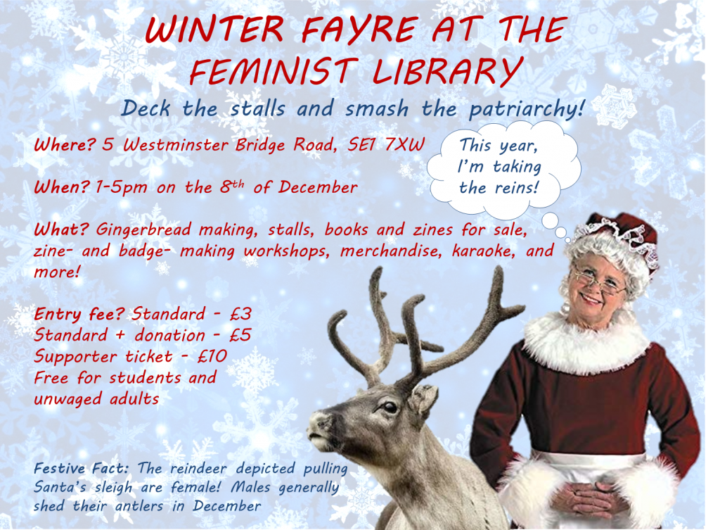 Winter Fayre flyer 2018